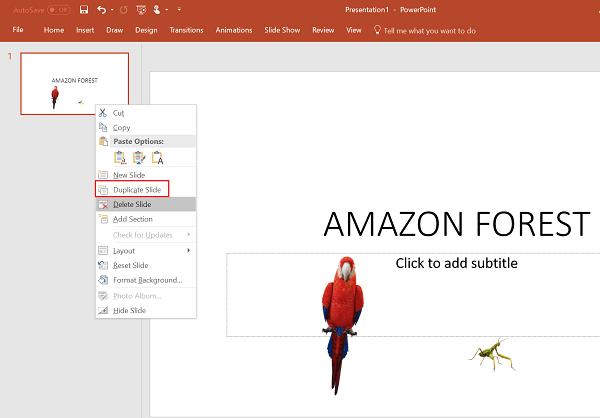 Cómo usar la función de Transición de Morph en PowerPoint 1