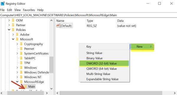 Impedir que Windows 10 muestre la página Experiencia de bienvenida de Windows