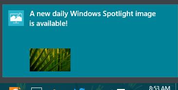 Establecer imágenes Bing y Spotlight como fondo o pantalla de bloqueo en Windows 10, automáticamente 3