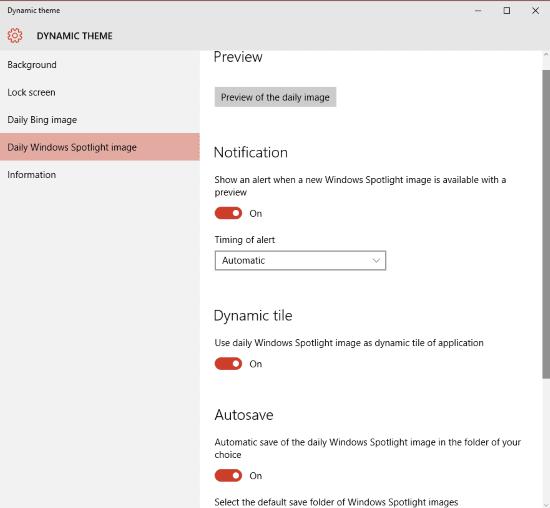 Establecer imágenes Bing y Spotlight como fondo o pantalla de bloqueo en Windows 10, automáticamente 6