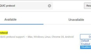 Fijar ERR QUIC PROTOCOLO ERROR en Google Chrome