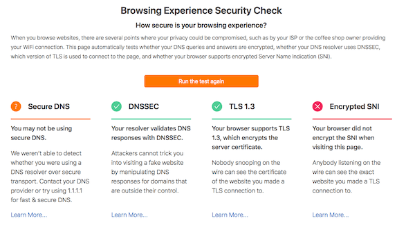 Comprobación de seguridad de la experiencia de navegación: ¿Qué tan seguro es su navegador?