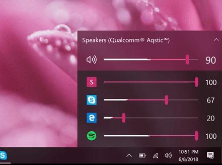 Aplicación de control de volumen EarTrumpet para Windows 10