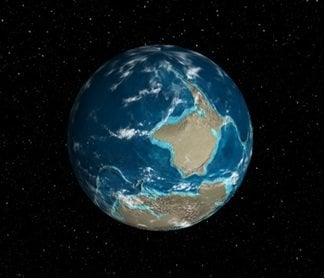 Ver cómo era la Tierra hace millones de años: Experimento de cromo 3