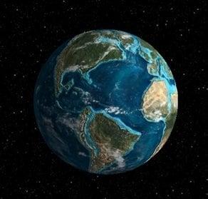 Ver cómo era la Tierra hace millones de años: Experimento de cromo