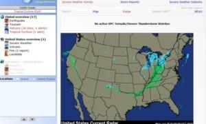 Obtenga un informe de los últimos Desastres Naturales y Eventos de Peligro usando Alertas de la Tierra para Windows PC