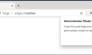 Por qué no debería ejecutar el nuevo navegador Edge en modo Administrador