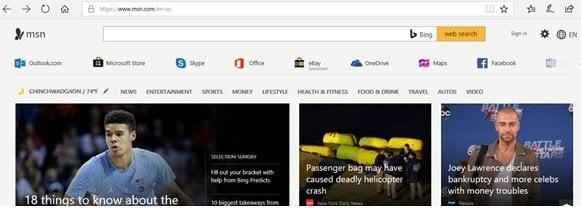 ¿Por qué aparece Internet Explorer o Edge después de un cambio de red? 1