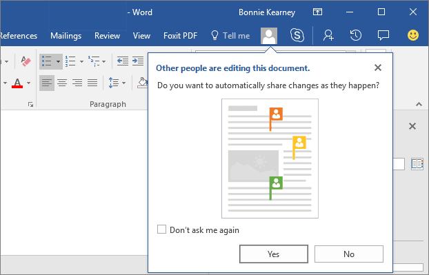 Cómo colaborar y compartir documentos en Word en Windows