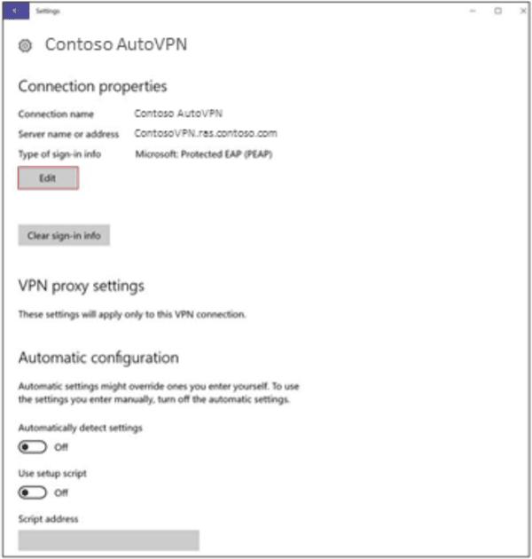 Cómo configurar y usar AutoVPN en Windows 10 para conectarse de forma remota