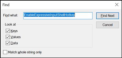 Cómo usar, deshabilitar y habilitar el Panel Emoji en Windows 10 2