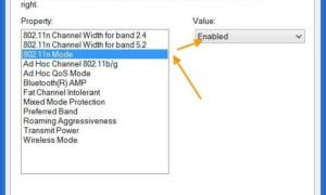 Cómo habilitar la conexión inalámbrica del modo 802.11n para Windows 8/10