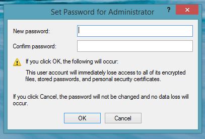 Habilitar cuenta de administrador local para Windows en el modo de grupo de trabajo