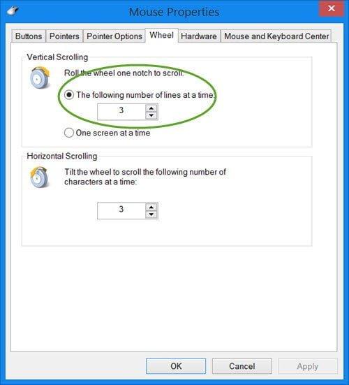 Habilitar el desplazamiento suave en Windows, IE, Chrome, Firefox, Opera