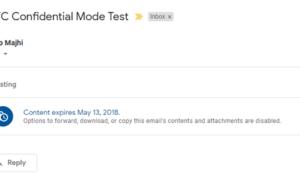 Cómo habilitar y utilizar el modo confidencial en Gmail
