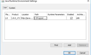 Cómo habilitar manualmente la última versión de Java en sistemas Windows