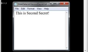 Ocultar datos en un compartimento secreto de archivos de texto del Bloc de notas de Windows 10/8/7