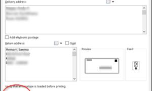 Cómo crear un sobre en Microsoft Word e imprimirlo