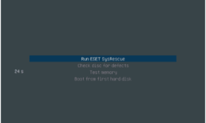 Creación de dispositivos de inicio mediante ESET SysRescue Live