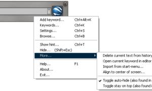 Ejecutor: Cuadro de diálogo Una alternativa avanzada a la ejecución de Windows