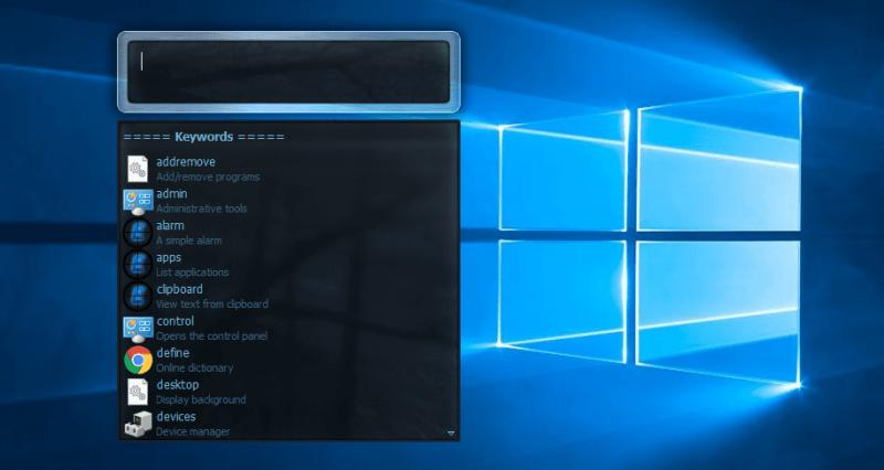 Mejores lanzadores de aplicaciones de escritorio para Windows 10/8/7 3