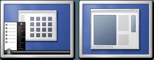 Cómo configurar fácilmente los monitores duales en Windows 7 2
