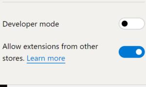 Cómo instalar extensiones en Microsoft Edge desde Chrome Web Store