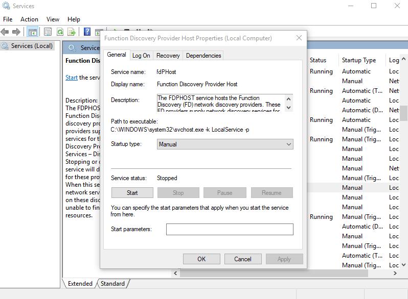Windows 10 no puede ver otros equipos en la red
