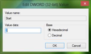 Error 0x80070422 El servicio no se pudo iniciar en Windows Defender