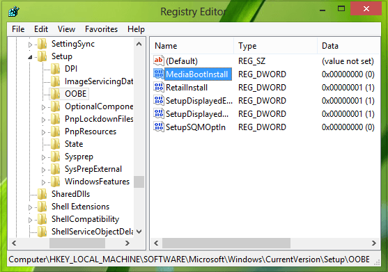 Error 0xC004F061, Incapaz de usar la clave de producto para una instalación limpia 2