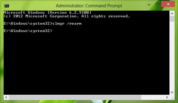 Error 0xC004F061, Incapaz de usar la clave de producto para una instalación limpia 4