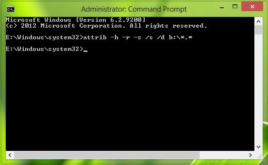 Los archivos y carpetas en USB se convierten en accesos directos en Windows 10/8/7 2