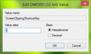 El acceso directo de recorte de pantalla en OneNote no funciona después de actualizar a Windows 10/8.1