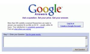 Lista de los principales proyectos de Google que han fallado