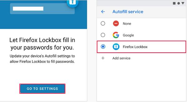 Firefox Lockbox le permite llevar sus contraseñas en su teléfono
