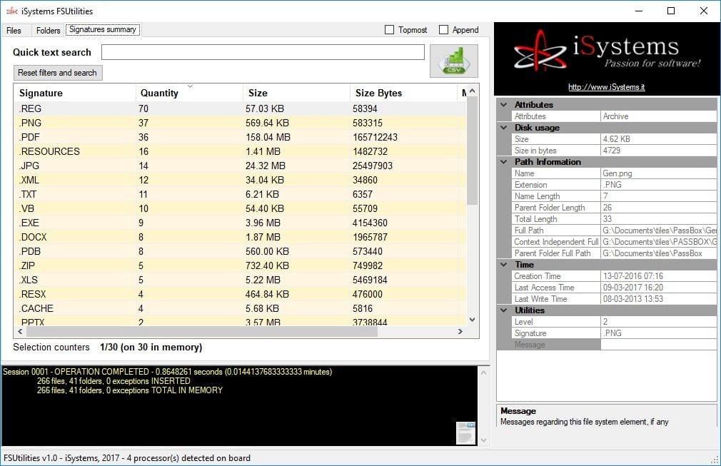FS Utilities le permite administrar fácilmente sus archivos y carpetas de Windows.