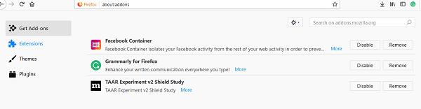 Evita que Facebook te siga utilizando el complemento Contenedor de Facebook para Firefox.