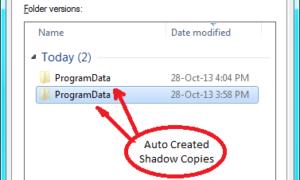 ¿Qué es el servicio de copia VSS o de sombra de volumen en la ventana 10/8/7?