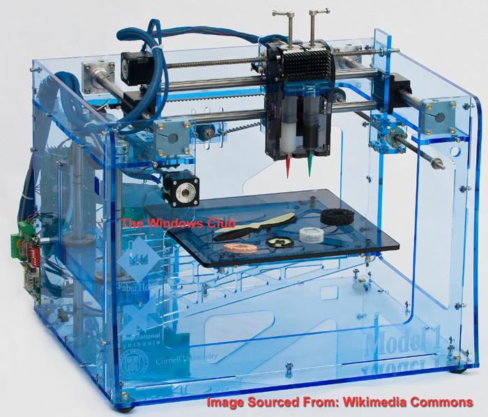 Un estudio de la impresión en 3D. ¿Qué es una impresora 3D? ¿Debería ser obligatoria una licencia? 1