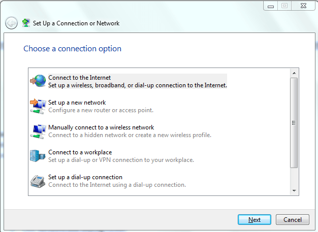 How to set up your wireless network connection in Windows 10/8/7 2
