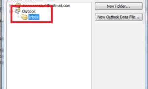 Cómo combinar la bandeja de entrada de Outlook de varias cuentas