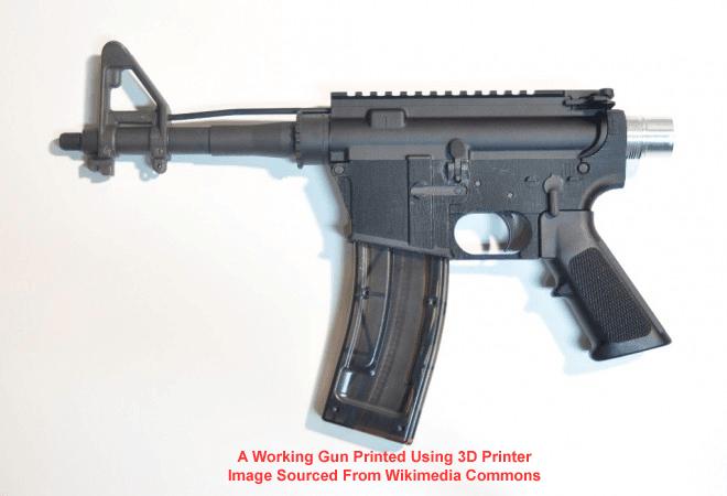 Un estudio de la impresión en 3D. ¿Qué es una impresora 3D? ¿Debería ser obligatoria una licencia?