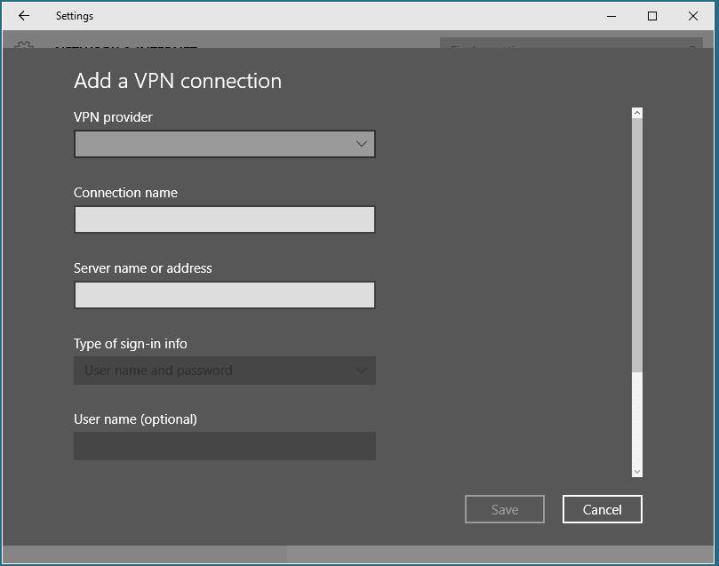 Cómo crear un servidor VPN público en Windows 10 gratis