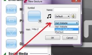 Revisión de Synaptics Scrybe - Dibujar en el touchpad para lanzar programas