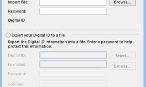 Cómo añadir una firma digital a Outlook