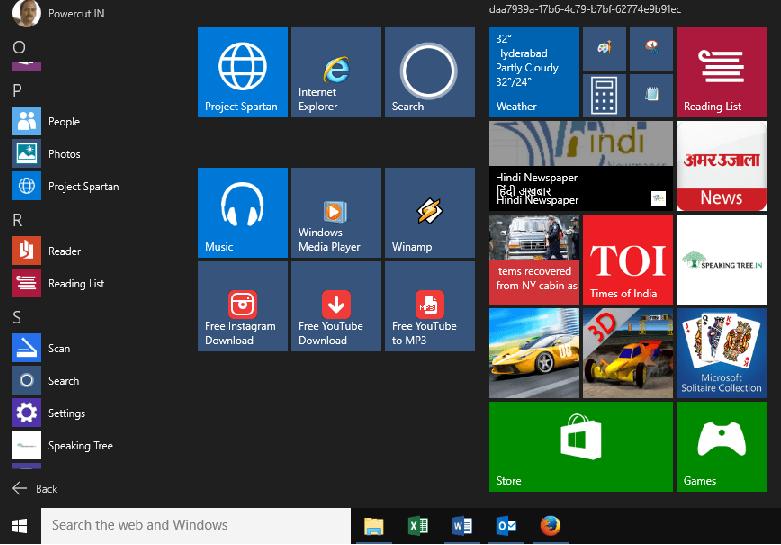 Menú Inicio en Windows 10: Una mirada más de cerca a lo bueno y lo malo 1
