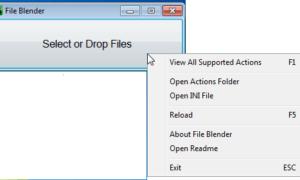 Mezclador de archivos: Software gratuito de conversión de archivos para PC con Windows