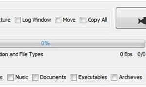 File Fisher: Freeware para copiar o mover determinados tipos de archivos de un grupo mixto