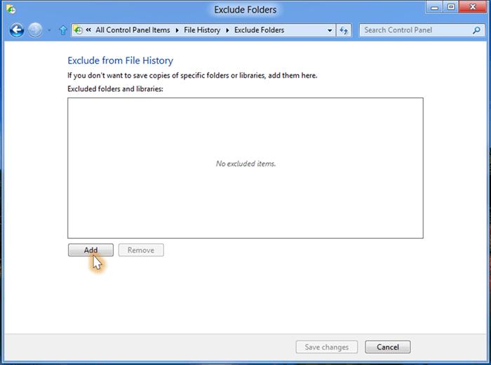 Cómo configurar y usar el Historial de archivos en Windows 8 5