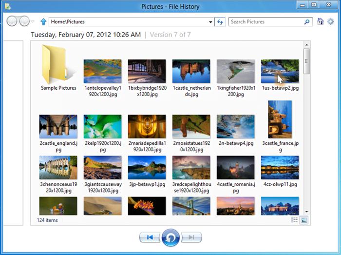 Cómo configurar y usar el Historial de archivos en Windows 8 7